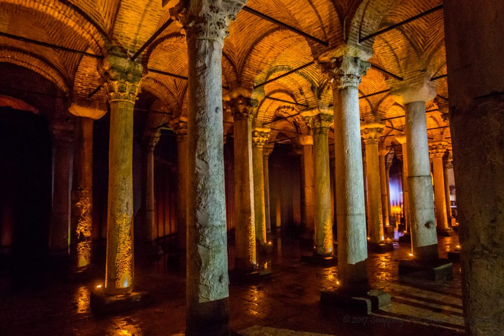 15 PLACES IN INSTANBUL- BASILICA CISTERN - Sheet3
