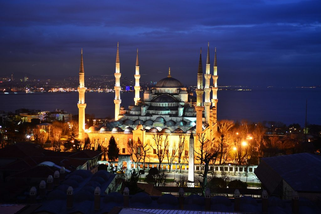 15 PLACES IN INSTANBUL- BLUE MOSQUE