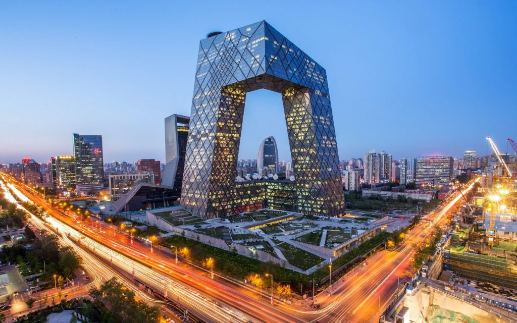 15 PLACES IN BEIJING-CCTV Tower - sheet1