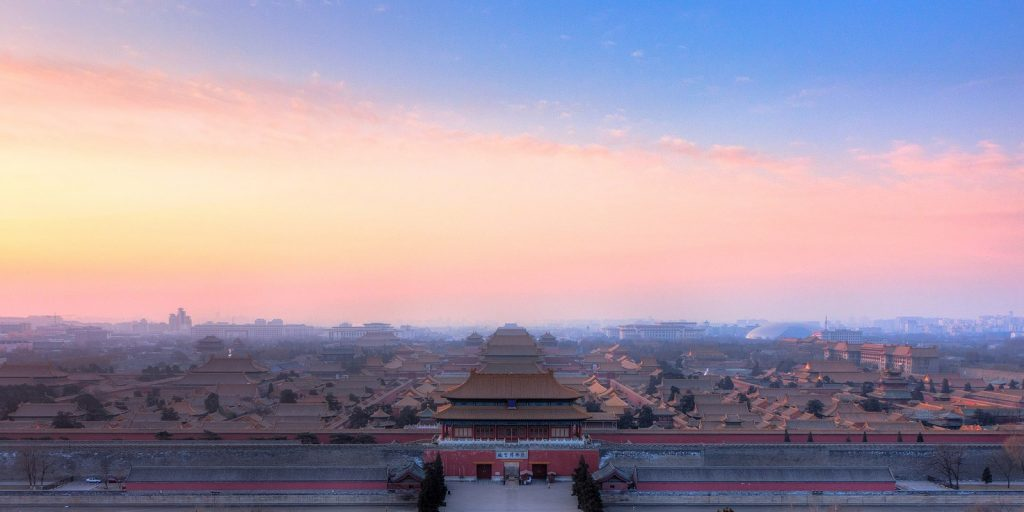 15 PLACES IN BEIJING-The Forbidden City -sheet1