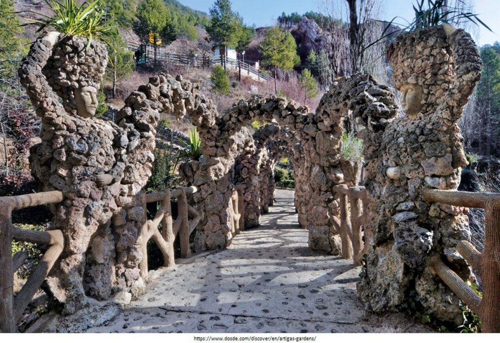 15 Projects by Antoni Gaudi- ARTIGAS GARDENS