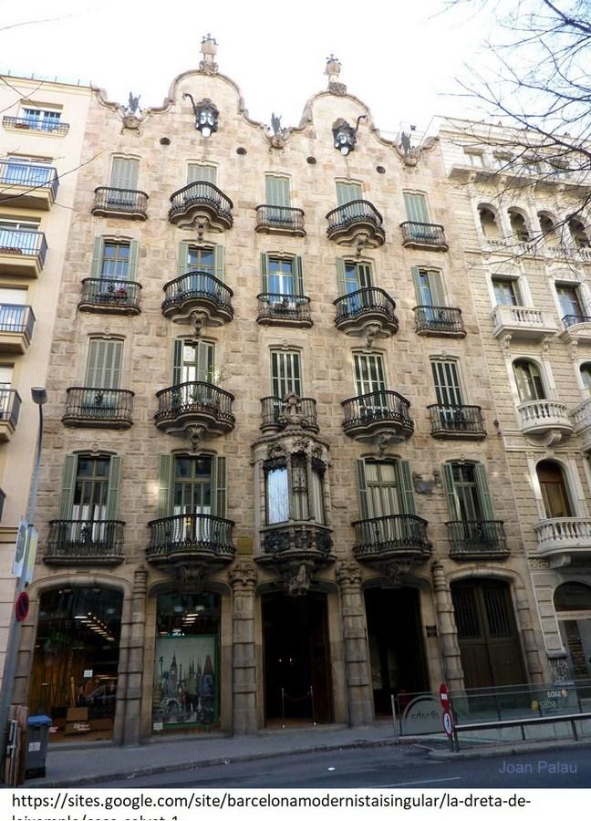 15 Projects by Antoni Gaudi- CASA CALVET