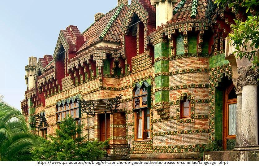 15 Projects by Antoni Gaudi- EL CAPRICHO