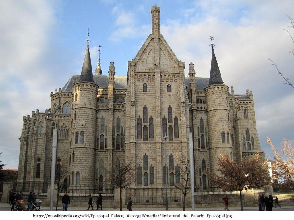 15 Projects by Antoni Gaudi- EPISCOPAL PALACE OF ASTORGA