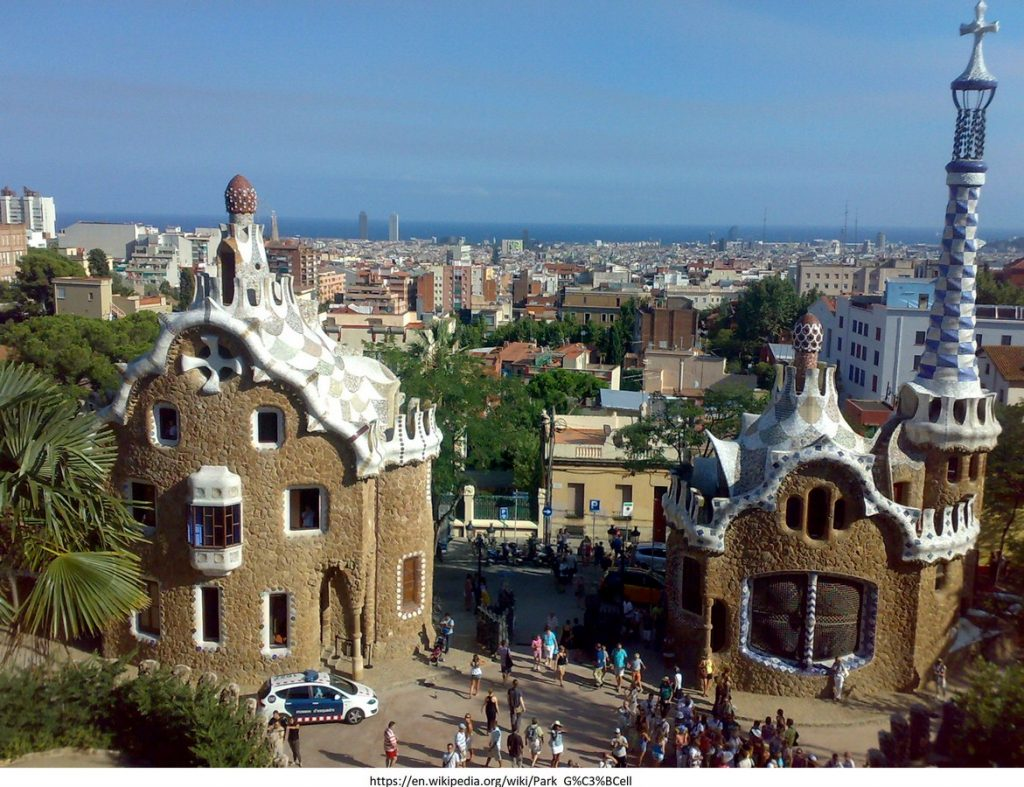 15 Projects by Antoni Gaudi- PARK GUELL