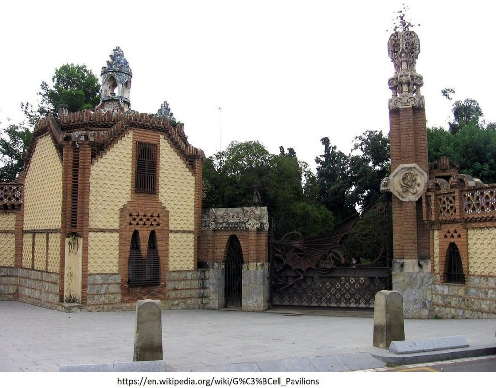 15 Projects by Antoni Gaudi- GUELL PAVILIONS