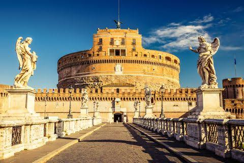 15 PLACES IN ROME IMAGE 11- CASTEL SANT'ANGELO