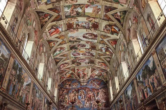 15 PLACES IN ROME IMAGE 13- SISTINE CHAPEL