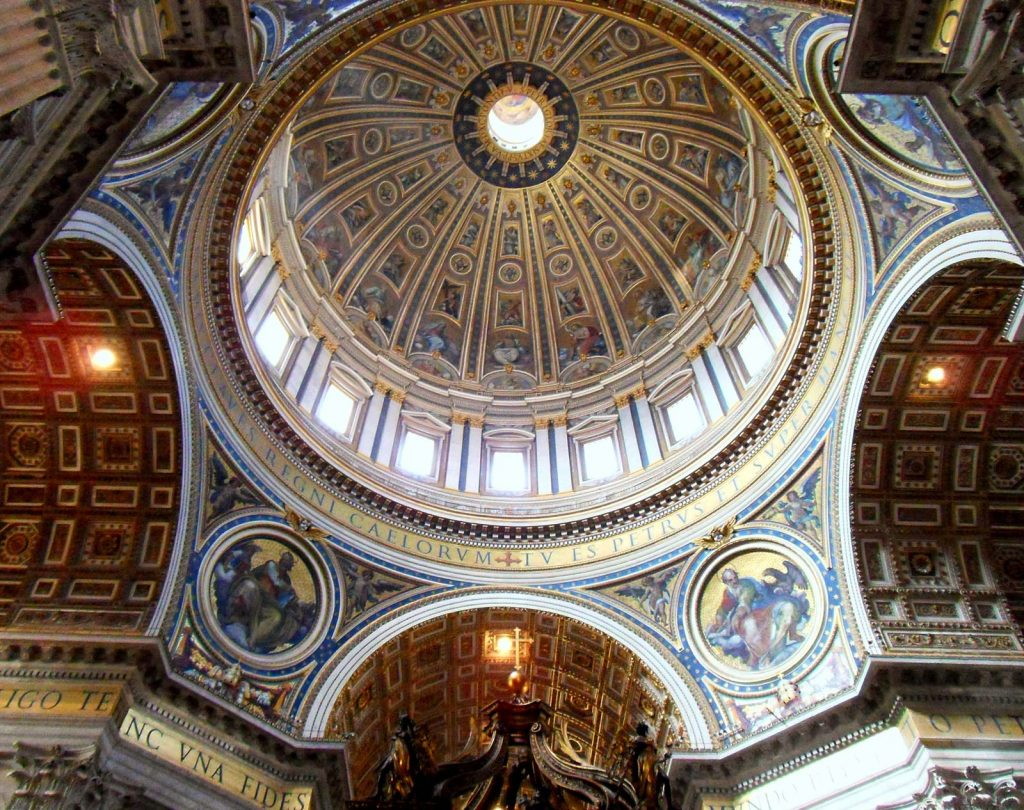 15 PLACES IN ROME IMAGE 4- ST PETERS BASCILICA