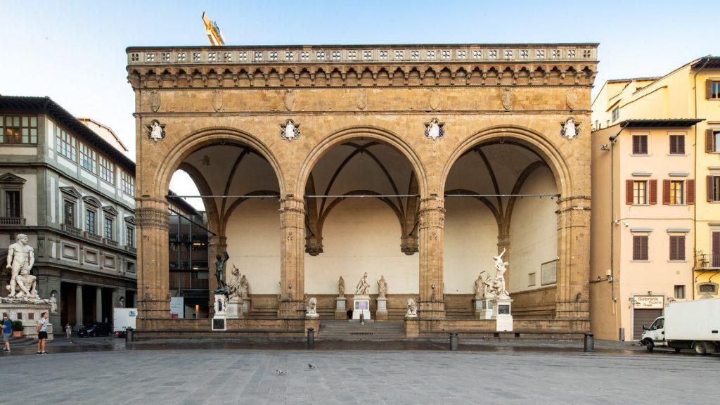 BAROQUE ARCHITECTURE - LOGGIA DEI LANZI - sheet1
