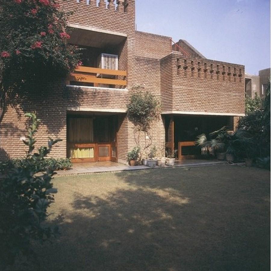 Sham Lal House by Raj Rewal - 1