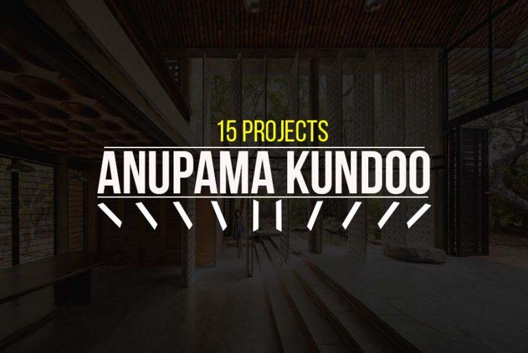 15 Projects by Anupama Kundoo