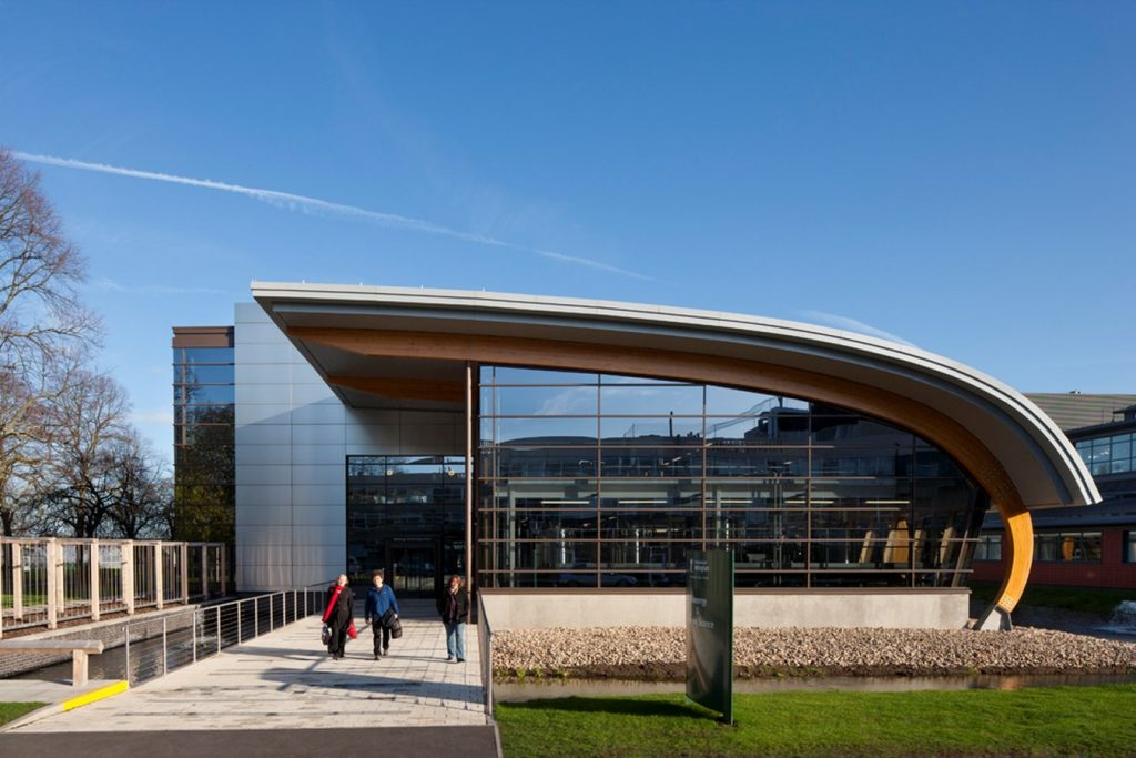 Bioenergy and Brewing Science Building, Nottingham by Maber