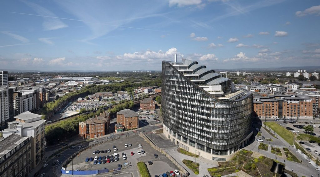 Architects in Glasgow - Top Architecture firms in Glasgow - One Angel Square, Manchester by 3D Reid