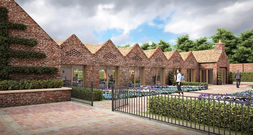 Kirkleatham walled garden, North Yorkshire by IDP Partnership
