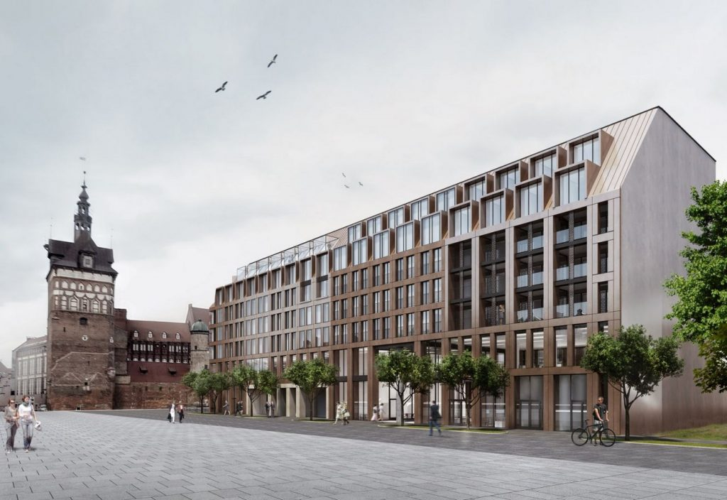 Architects in Glasgow - Top Architecture firms in Glasgow - Danziger hof, Poland by Axis Mason