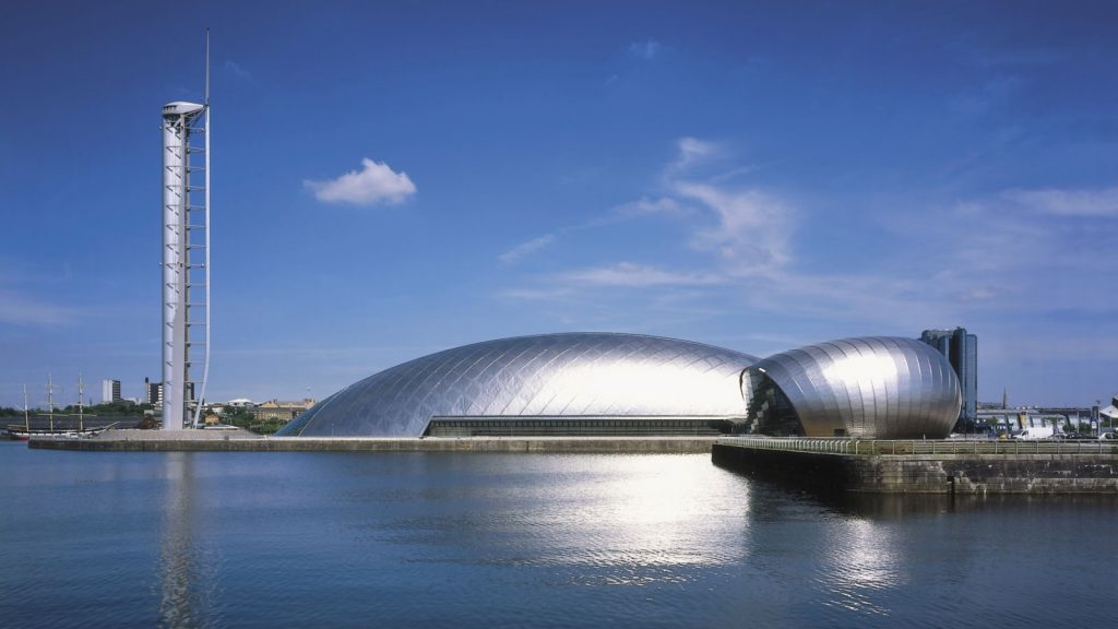 Architects in Glasgow - 40 Top Architecture firms in Glasgow - Glasgow Science Centre, Glasgow