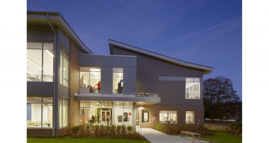 TOP ARCHITECTURE FIRMS IN BOSTON - Intergenerational Community Center, BH+
