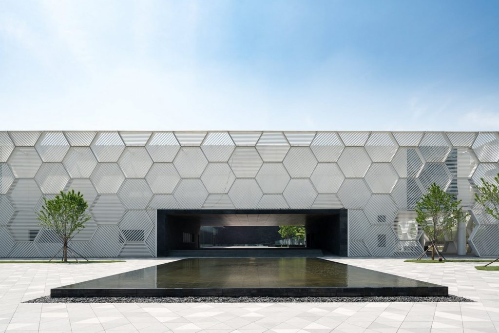 Top Architecture Firms in Los Angeles California - DEEJ Campus, China by 5+ Design