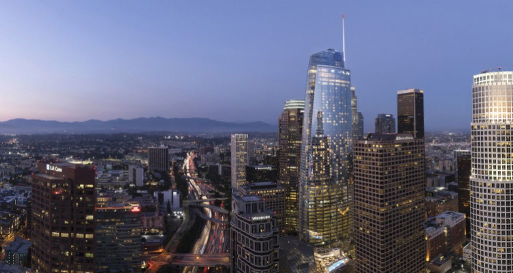 Top Architecture Firms in Los Angeles California - Wilshire Grand Centre by AC Martin Architects