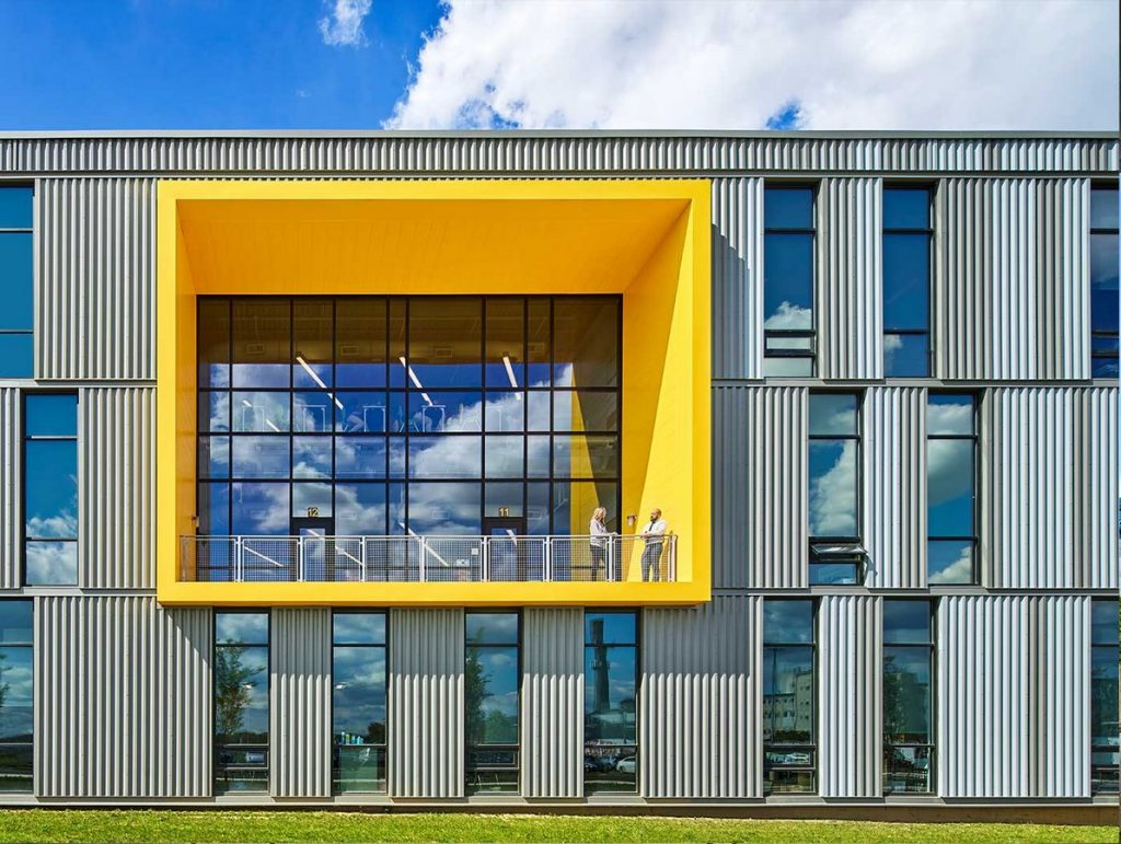 Mast II community Charter school by Ewing Cole Architects