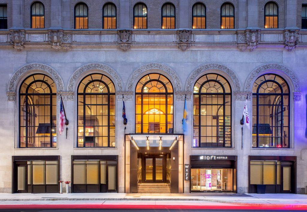 Philadelphia Architects - Aloft Hotel by Blackney Hayes