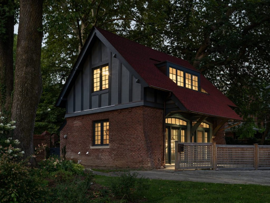 Philadelphia Architecture Firms - Mount Airy carriage House by C2- Architects