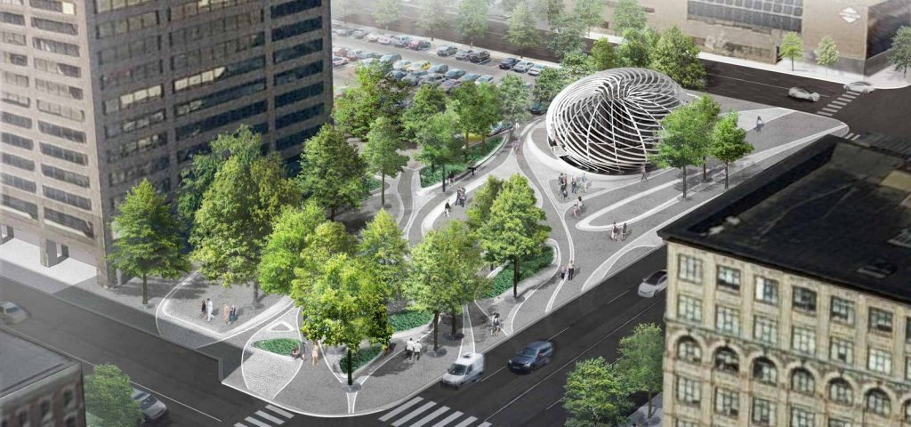 Architecture Firms in New York: Downtown Syracuse Plaza, Syracuse, New York by !melk