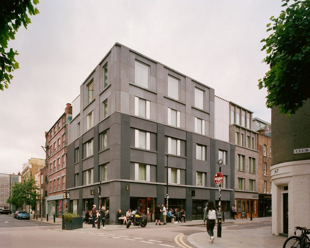 Top Architecture Firms in London - Redchurch Corner by 31/44 architects