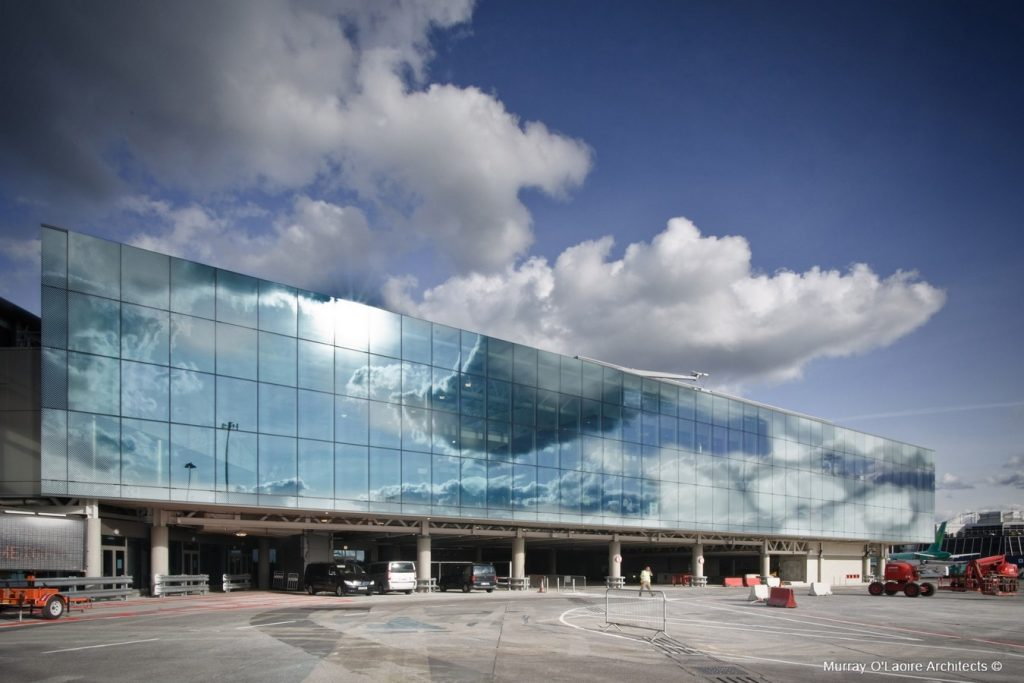 TOP ARCHITECTURE FIRMS IN LONDON - Terminal 1 Extension, Dublin by AR architects