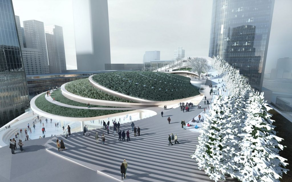 Architects in Seattle   Top Architecture Firms in Seattle - China World Trade Centre by Aedas