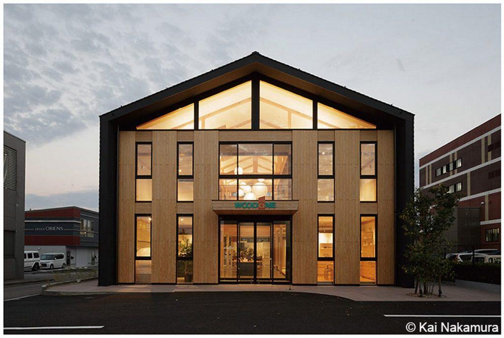 WOODONE Kanazawa showroom by Toyo Ito & Associates