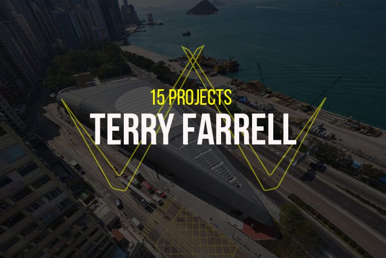 15 Projects by Terry Farrell