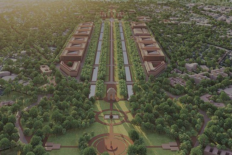 Ahmedabad based Ar. Bimal Patel's HCP on Redevelopment of Central Vista Common Central Secretariat and Parliament in Delhi