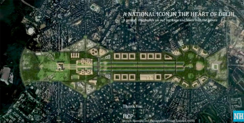 Ahmedabad based Ar. Bimal Patel's HCP on redevelopment of Central Vista Common Central Secretariat and Parliament in Delhi - sheet7