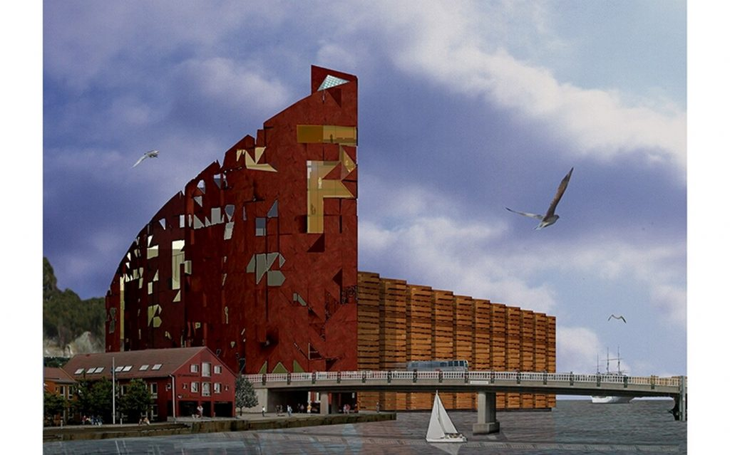Top Architecture Firms in Barcelona - The performing arts center, Norway by BC Estudio