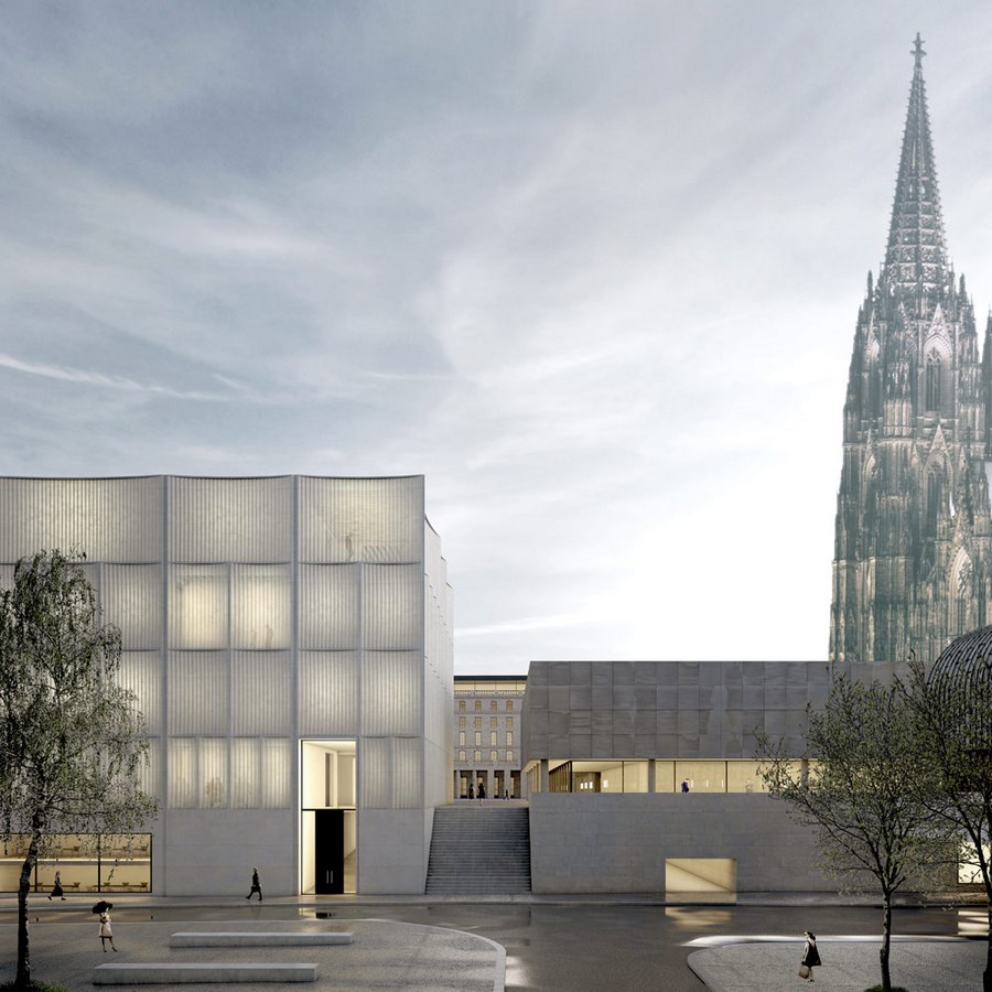 The historical center of Cologne by Staab Architekten