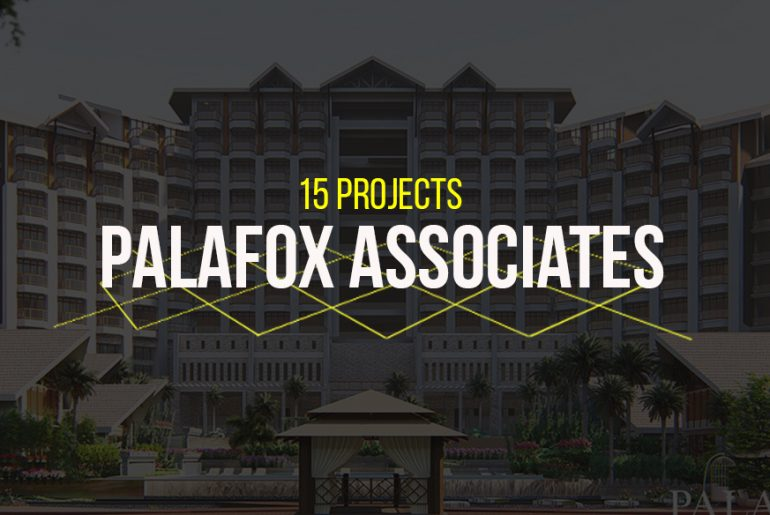 15 Projects by Palafox Associates