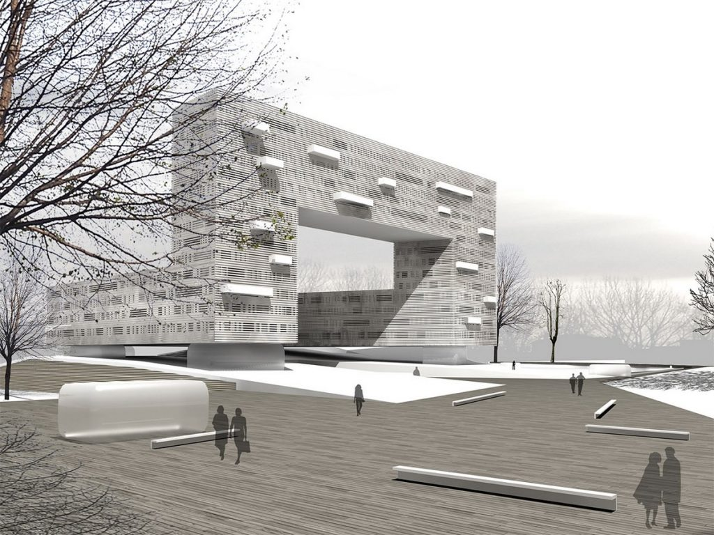 TOP 25 ARCHITECTURE FIRMS IN ROME - Sustainable city & new public space – GYOR by 3mq Architecture