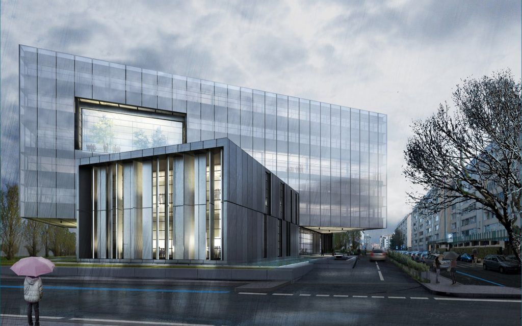 TOP 25 ARCHITECTURE FIRMS IN ROME - Headquarter CAP group by Bicuadro.