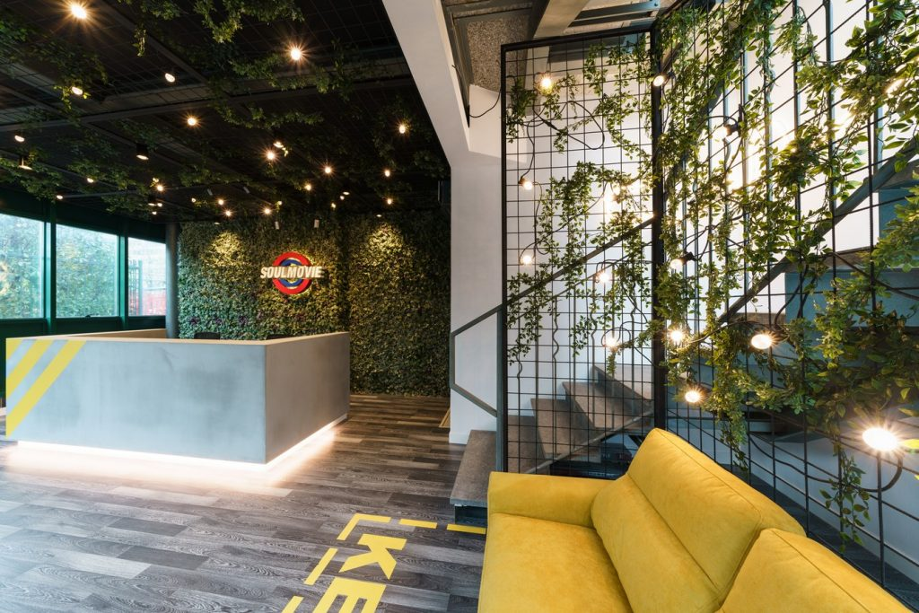 TOP 25 ARCHITECTURE FIRMS IN ROME ITALY - Soul Movie office by Brain Factory.