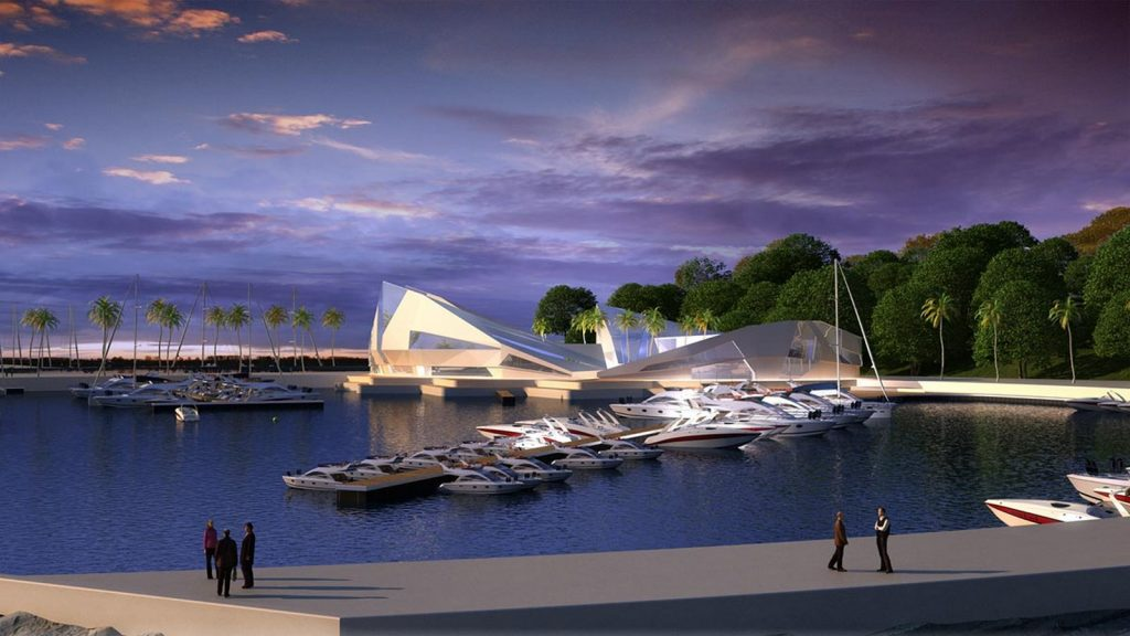 TOP 25 ARCHITECTURE FIRMS IN ROME ITALY - First Alley sea Front by De Ponte studio Architects.