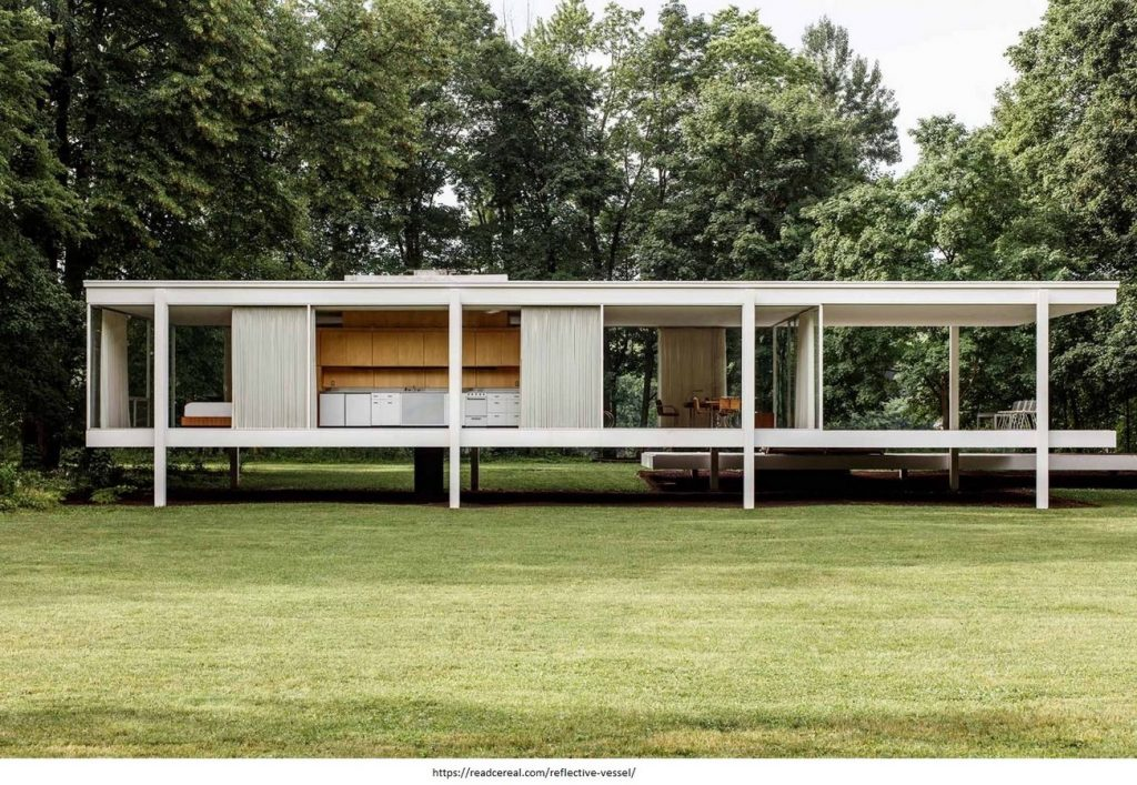 INSTANCES OF SACRED GEOMETRY- IMAGE 2 farnsworth house
