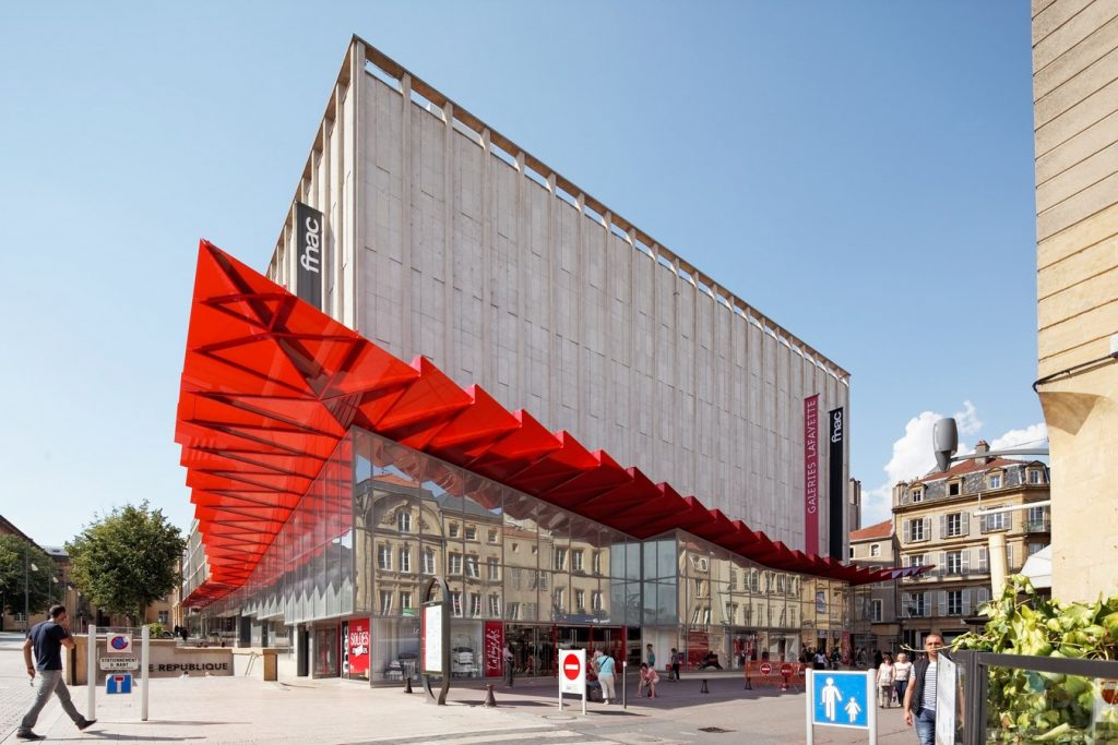 Galeries Lafayette by Manuelle Gautrand Architecture