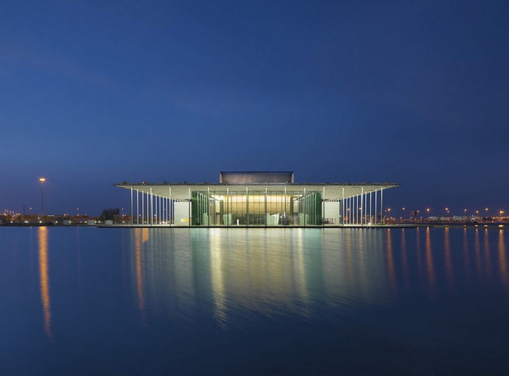 TOP 50 ARCHITECTURE FIRMS IN PARIS - National Theatre of Bahrain by Architecture studio