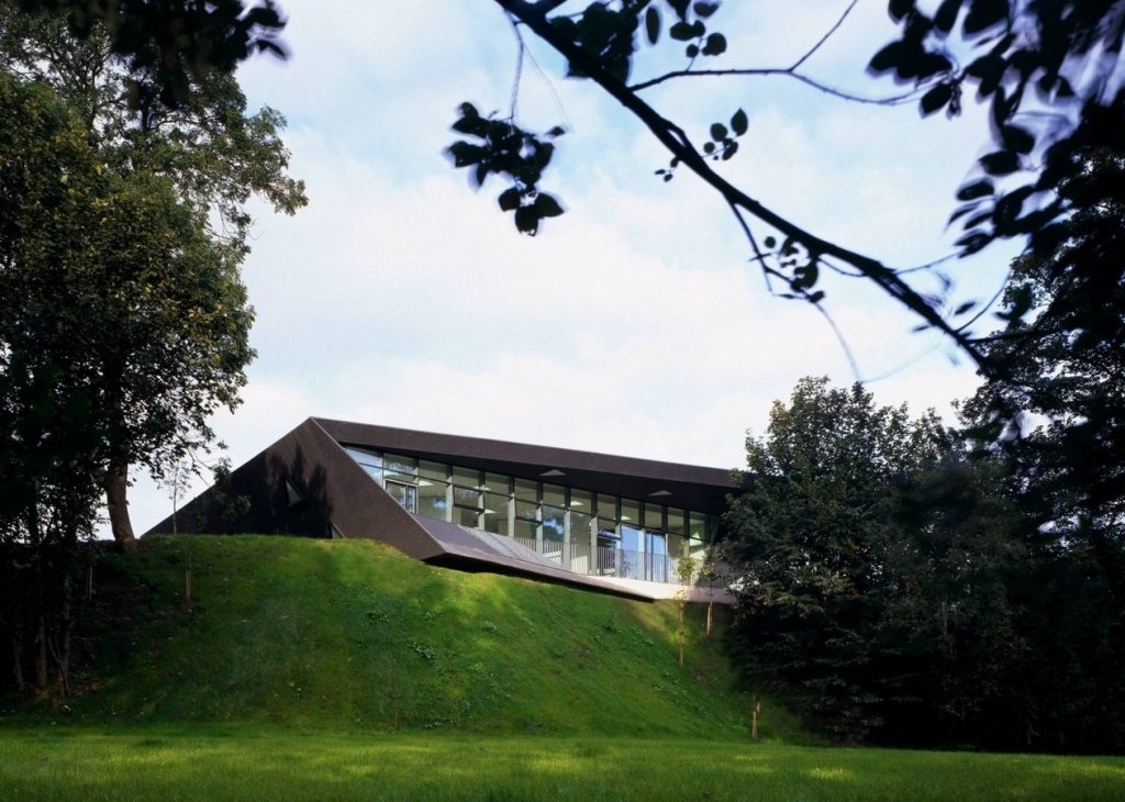 Maggie's center in Fife by Zaha Hadid. Source - archdaily.com