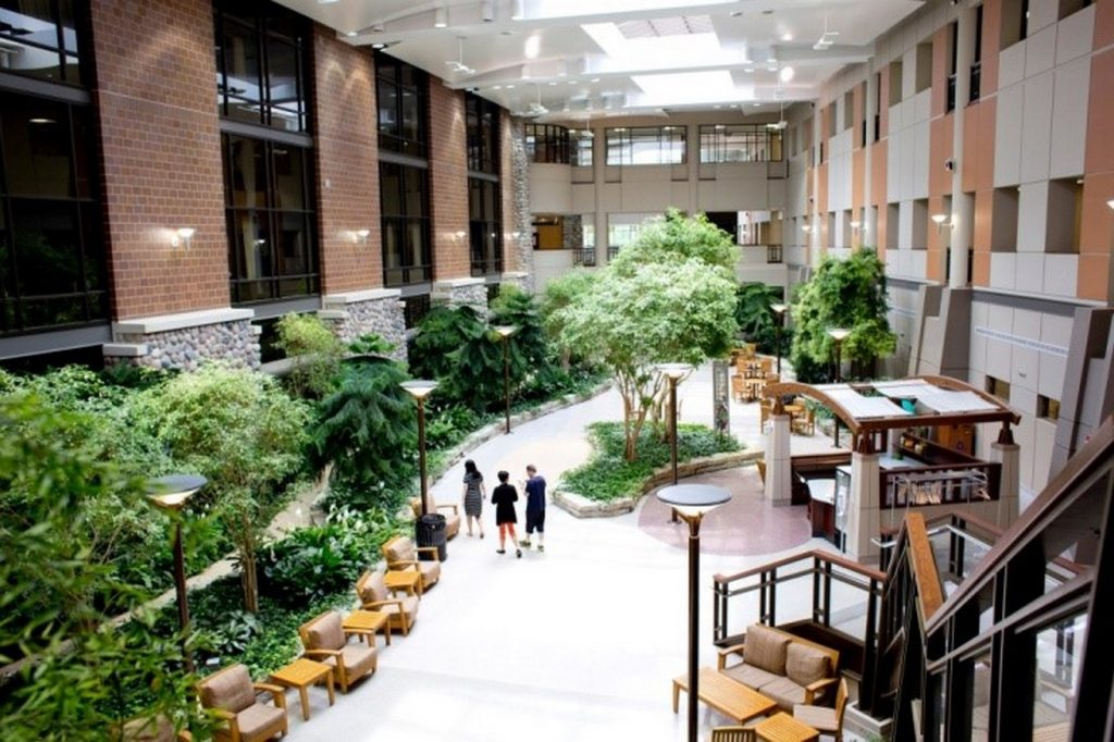 The atrium of the Henry Ford West Bloomfield Hospital outside Detroit.Credit...Laura McDermott for The New York Times nytimes.com