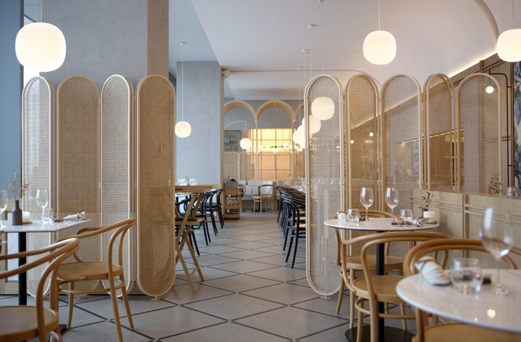 Oxalis Restaurant By Sò Studio - Sheet9