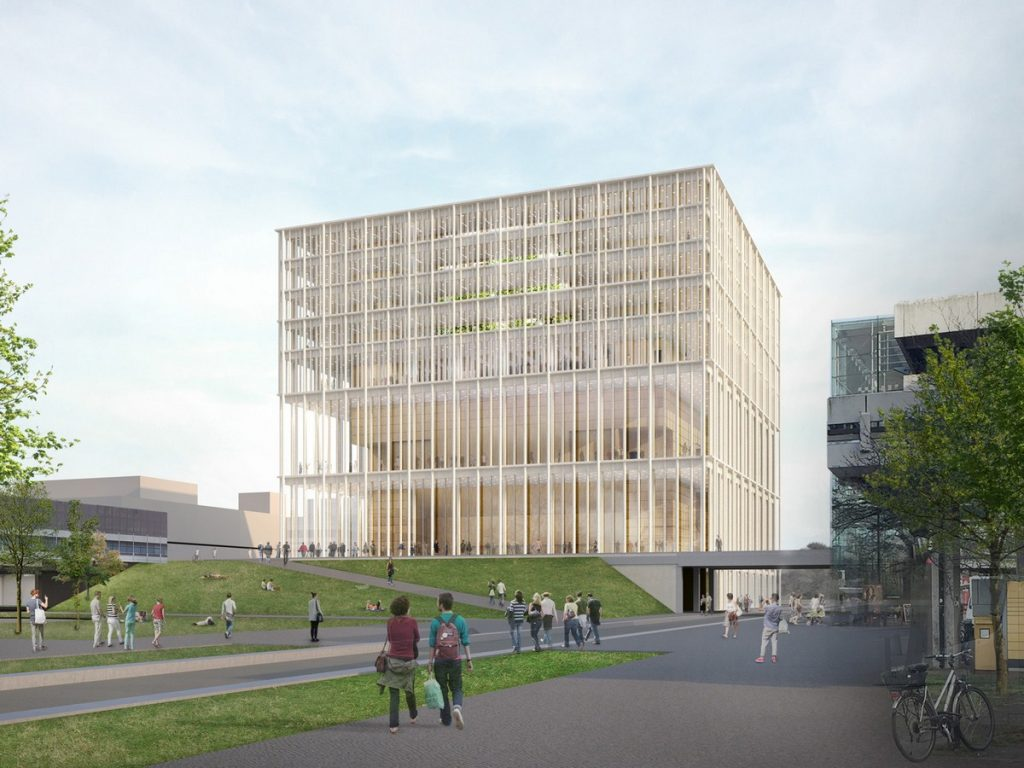 Lecture hall building, Bremen by Max Dudler Architects
