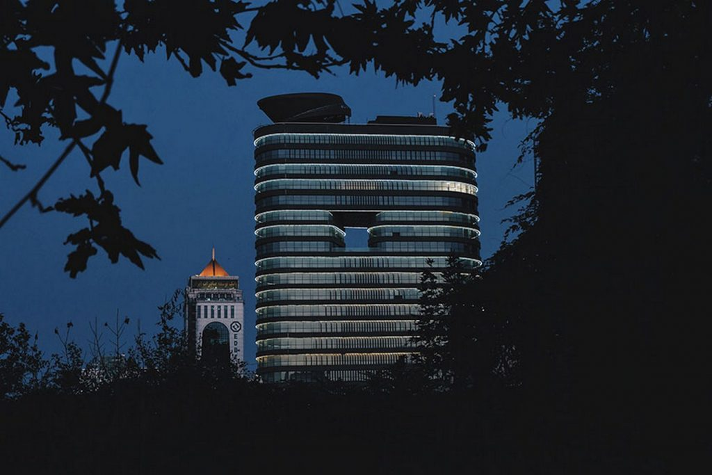 Vozara Tower by L.E.D. Architects
